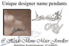 Name pendants