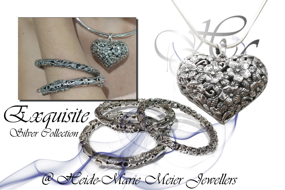 exquisite silver jewellery