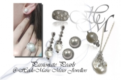 Passionate pearls in silver jewellery